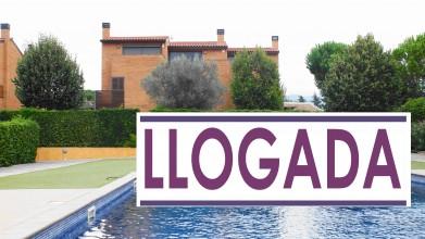 torre pareada con piscina y jardin en l'Ametlla del Vallès (Can Camp)